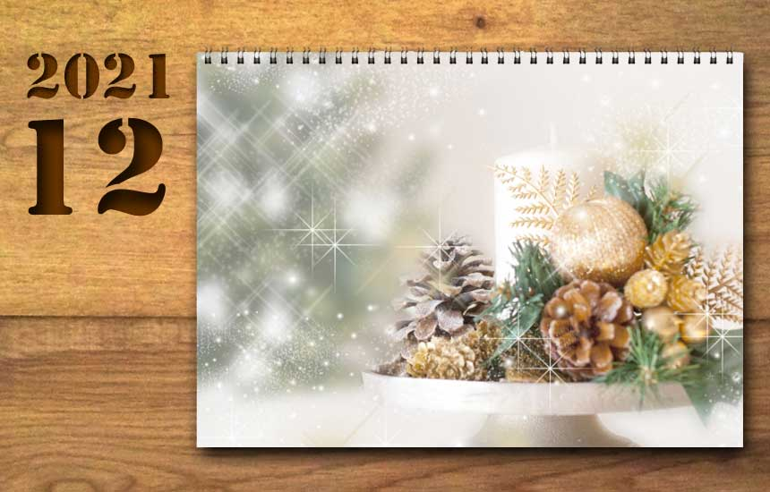 2021年12月の運勢カレンダー(星座占い・宿曜・六曜)
