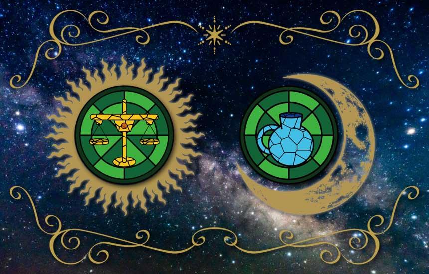 星座占い「天秤座(太陽)と水瓶座(月)のコンビネーションで鑑定する今の運勢」