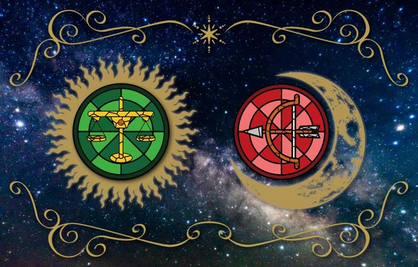 星座占い「天秤座(太陽)と射手座(月)のコンビネーションで鑑定する今の運勢」