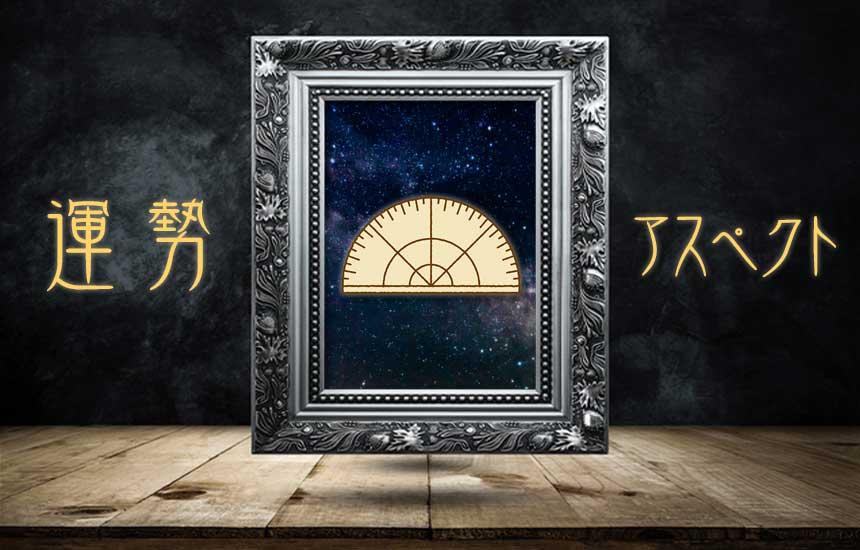 西洋占星術「今日の運勢とアスペクトの一覧表(トランシットの惑星同士)」