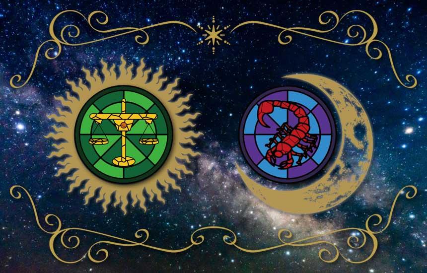 星座占い「天秤座(太陽)と蠍座(月)のコンビネーションで鑑定する今の運勢」